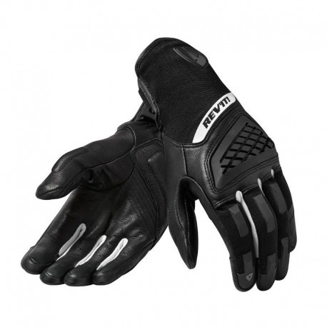 GUANTES REVIT NEUTRON 3 LADY NEGRO BLANCO