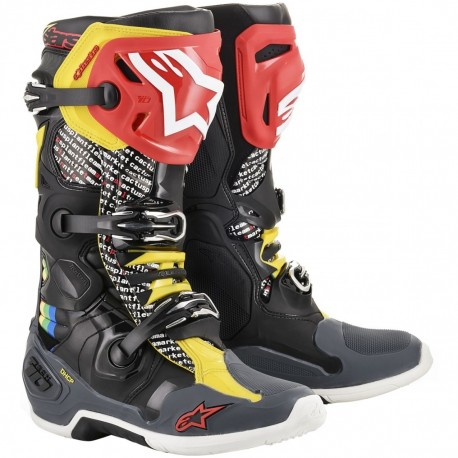BOTAS ALPINESTARS TECH10 RAINBOW