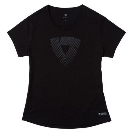 CAMISETA REVIT HOWLOCK LADY NEGRO