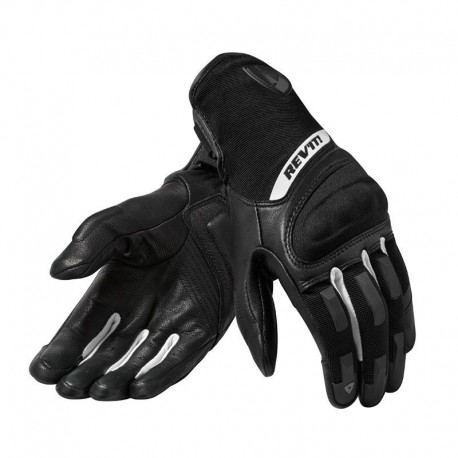 GUANTES REVIT STRIKER 3 LADY NEGRO BLANCO