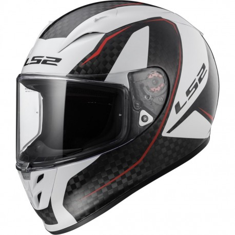 CASCO LS2 FF323 ARROW C FURY CARBON BLANCO