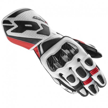 GUANTES SPIDI CARBO 1 BLANCO ROJO
