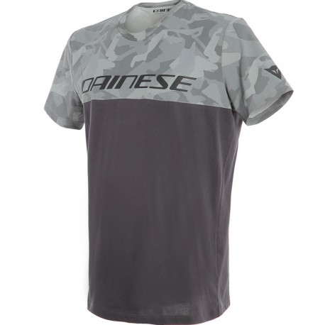 T-SHIRT DAINESE CAMO-TRACKS ANTRACITE