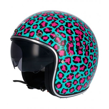 CAPACETE SHIRO SH 235 ANIMAL PRINT
