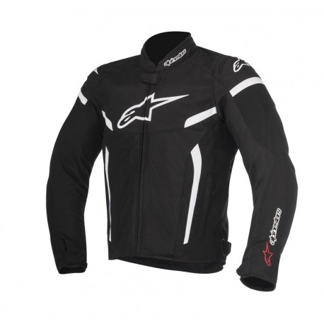 JAQUETA ALPINESTARS T-GP PLUS R V2 AIR BRANCO PRETO