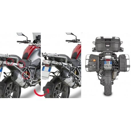 PORTAMALETAS LATERAL DE FIJACION BMW R1250GS ADVENTURE