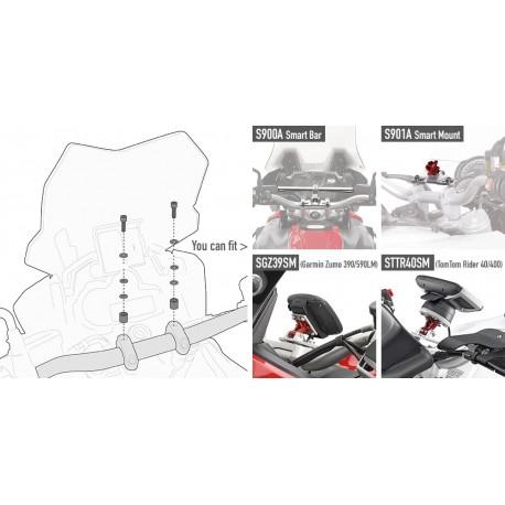 KIT TORNILLERIA GIVI S900A PARA BMW KTM TRIUMPH HONDA