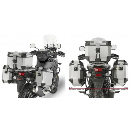 HERRAJE MALETAS LATERALES SUZUKI DL650 V-STRONG 650 17-18