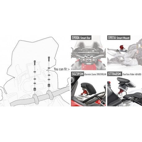 KIT TORNILLERIA SMART BAR-MOUNT HONDA