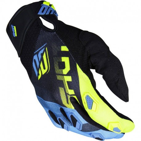 GUANTES SHOT KID ULTIMATE AZUL AMARILLO FLUOR