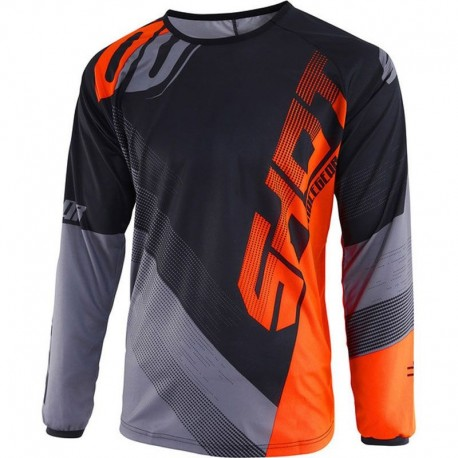 JERSEY SHOT KID ULTIMATE AZUL NARANJA