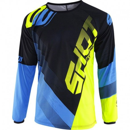 JERSEY SHOT KID ULTIMATE AZUL AMARILLO FLUOR
