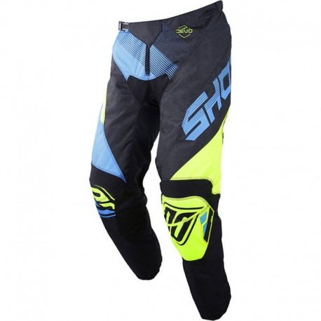 PANTALN SHOT KID ULTIMATE AZUL AMARILLO FLUOR