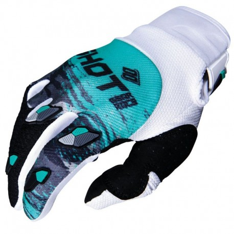 GUANTES SHOT COUNTER BLANCO VERDE