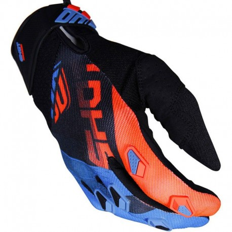 GUANTES SHOT ULTIMATE AZUL NARANJA