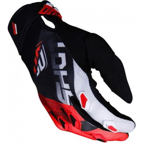 GUANTES SHOT ULTIMATE NEGRO ROJO