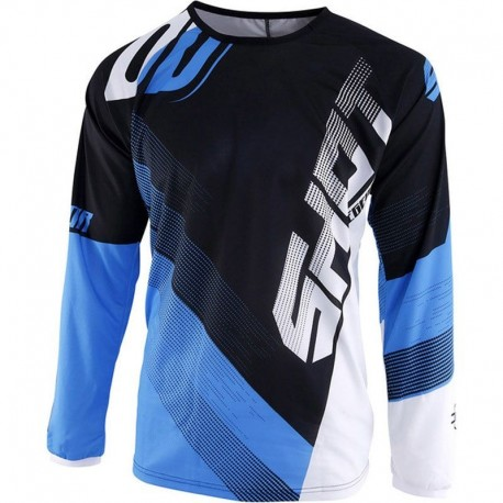 JERSEY SHOT ULTIMATE NEGRO AZUL