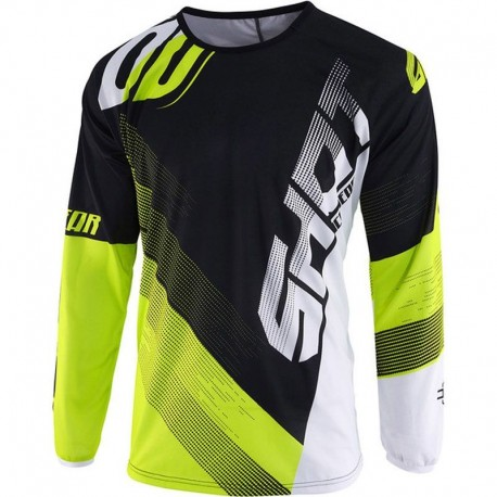JERSEY SHOT ULTIMATE NEGRO AMARILLO FLUOR