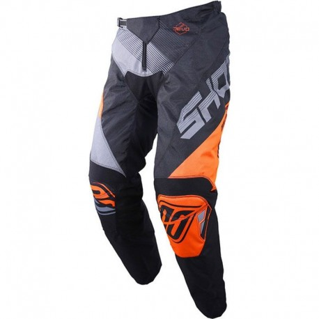 PANTALN SHOT ULTIMATE NEGRO NARANJA