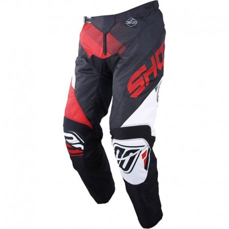 PANTALN SHOT ULTIMATE NEGRO ROJO