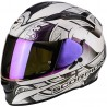 CASCO SCORPION EXO 510 ARABESC CAMALEON BLANCO