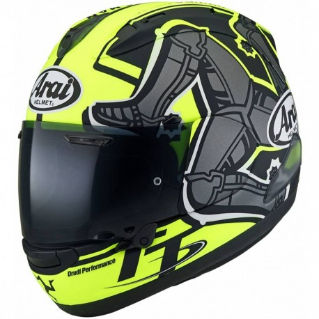 CASCO ARAI RX-7 V TT ISLE OF MAN 2019