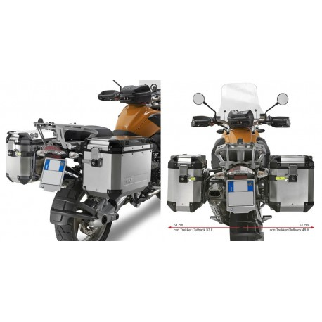 PORTAMALETAS LATERAL GIVI BMW R1200GS CAM-SIDE