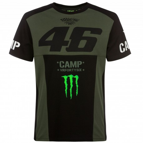 CAMISETA VR46 CAMP MONSTER DUAL 19 VERDE