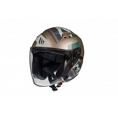 CAPACETE MT OF881 SV AVENUE SIDEWAY J9 OURO