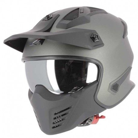 CASCO ASTONE ELEKTRON GUN METAL MATE