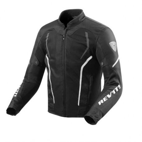 CHAQUETA REVIT GT-R AIR 2 NEGRO BLANCO