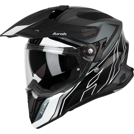 CASCO AIROH COMMANDER DUO BRILLO MATE