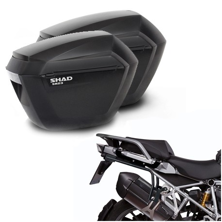 HERRAJE SHAD BMW F650/800/700 GS 08-18 +MALETAS LATERALES
