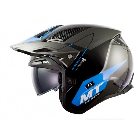 CASCO MT TR902SV DISTRIC SV SUMMIT H5 AZUL