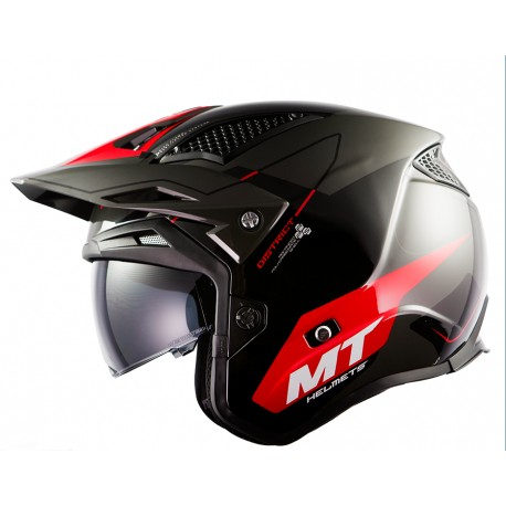 CASCO MT TR902SV DISTRIC SV SUMMIT H5 ROJO