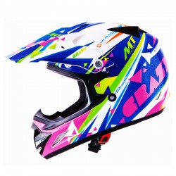 CASCO INFANTIL MT MX-2 CRAZY BLANCO