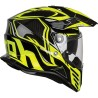 CASCO AIROH COMMANDER CARBONO AMARILLO FLUOR
