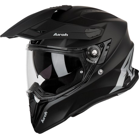 CASCO AIROH COMMANDER NEGRO MATE