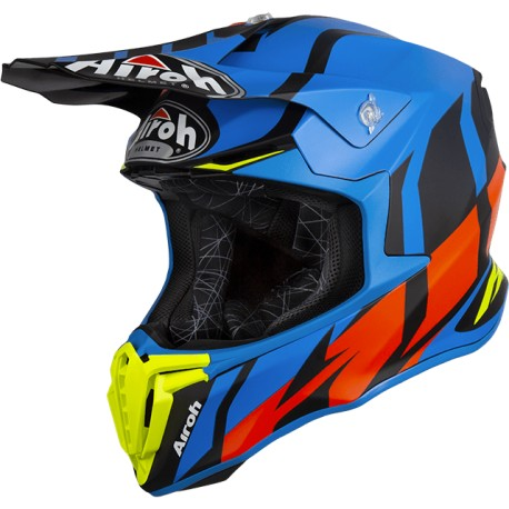 CASCO AIROH TWIST GREAT AZUL MATE