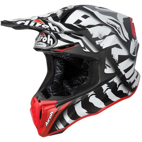 CASCO AIROH TWIST LEGEND NEGRO MATE
