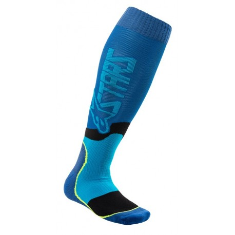 CALCETA ALPINESTARS MX PLUS 2 AZUL
