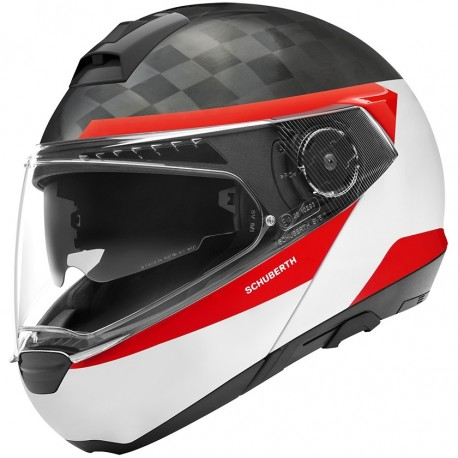 CASCO SCHUBERTH C4 PRO CARBON DELTA BLANCO