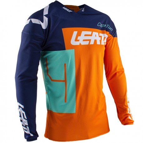 JERSEY LEATT GPX 3.5 MINI NARANJA