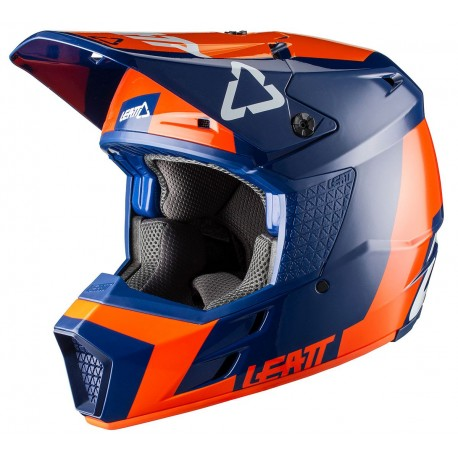 CASCO LEATT GPX 3.5 V20.2 NARANJA