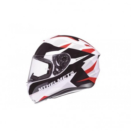 CASCO MT FF106 TARGO ENJOY D5 ROJO
