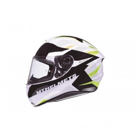 CASCO MT FF106 TARGO ENJOY D3 AMARILLO FLUOR
