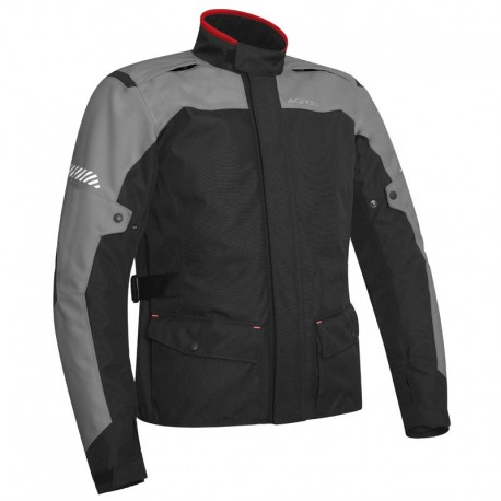 CHAQUETA ACERBIS DISCOVERY FOREST NEGRO GRIS