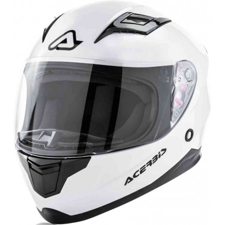 CASCO ACERBIS CARLINO KID BLANCO