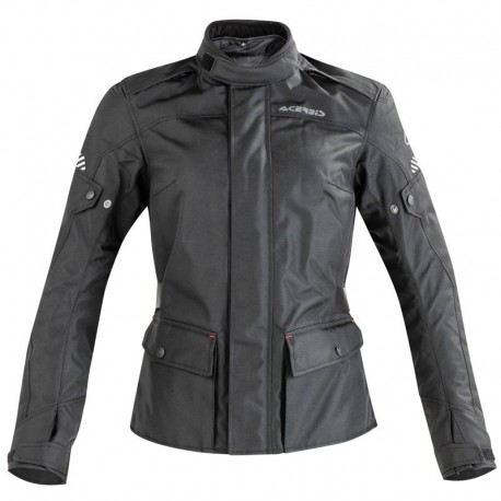 CHAQUETA ACERBIS DISCOVERY FOREST LADY NEGRO
