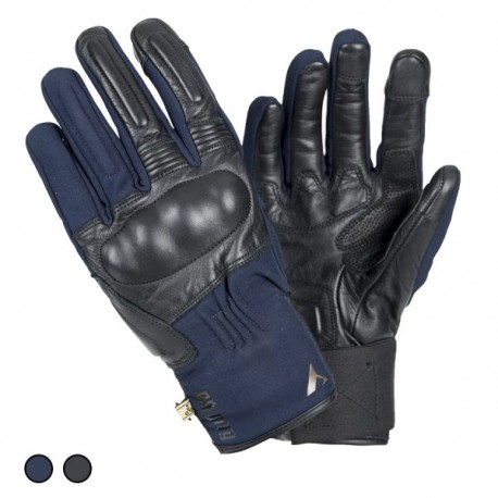 GUANTES BY CITY ARTIC AZUL NEGRO